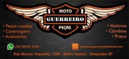 Peças de moto em geral desmanche credenciado ao Detran-SP