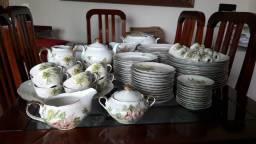 Jogo de jantar e café em porcelana