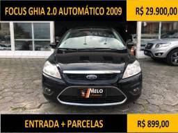Focus Ghia 2.0 Automático 2009 - 2009
