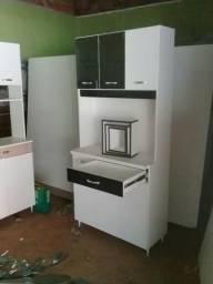 Armário de cozinhar em MdM novo. ganhe um jogo de nichos