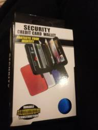 Carteira para guardar cartão
