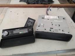 Toca cd/USB Pioneer com Bluetooth