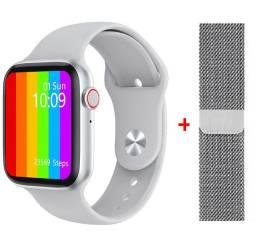 Smartwatch relógio inteligente iwo lite w26 tela infinita lançamento