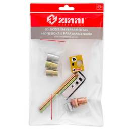 Kit Gabarito Cavilha 15 mm ZKIT6 Zinni Zinni