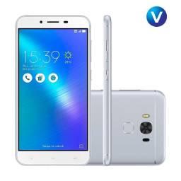 "Smartphone Asus Zenfone 3 Max Snapdragon Dual Chip Android 6 Tela 5.5"" 32GB Vitrine"