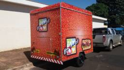 Food Truck Hot Dog Trailer