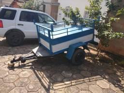 Carretinha/ Reboque Fechado