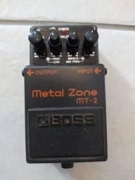 Pedal de Guitarra Boss MT-2 Metal Zone