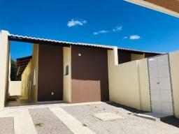 DP casa nova 3 quartos amplos 2 banheiros a 10 minutos de messejana