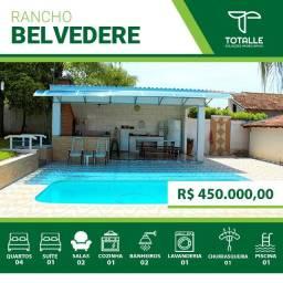 Lindo Rancho a venda - Condomínio Belvedere/ Penápolis