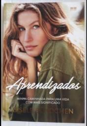"Livro ""APRENDIZADOS"" - Gisele Bundchen"