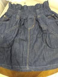 Saia jeans tamanho 36 nova