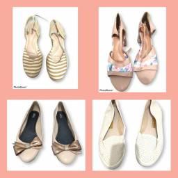 4 Sapatos Diversos N° 39