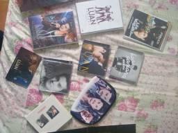 Kit do Luan Santana. DVDs + CDs + Posters