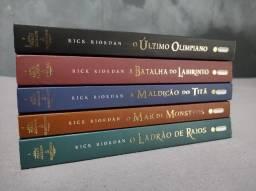Livros Coleção Percy Jackson e os Olimpianos