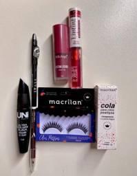 Kit maquiagem com 6 produtos, Dia dos namorados.