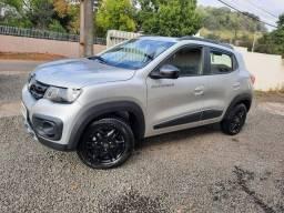Renault \ Kwid ( Outsider ) Top de Linha / Cheirando a Novo / Baixissímo Km / Ano 2021