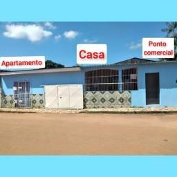 Título do anúncio: Alugo casa com ponto comercial e apartamento no João Eduardo. Valor R$: 1.700