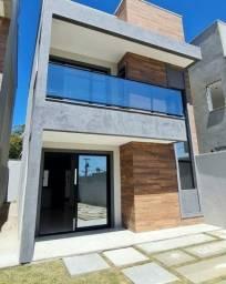 Título do anúncio: Casa com 3 dormitórios à venda, 100 m² por R$ 349.900,00 - Timbu - Eusébio/CE