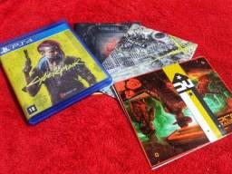 Título do anúncio: Cyberpunk 2077 PS4 Edição Limitada Nova