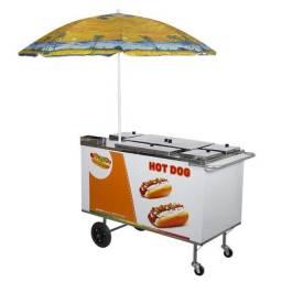 Carrinho de hot dog / cachorro quente