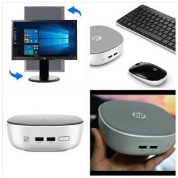 Computador HP i3 5ª Geração - 4Gb Ram - Windows 10 original - Monitor 21.5 polegadas