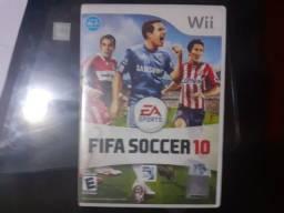 Jogo FIFA soccer 10 Nintendo Wii original
