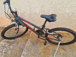 Bicicleta Caloi Max Aro 24 Com Freio V-Brake e Trocador Grip System 21 Marchas