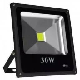 Refletor LED slim sobrepor 30w bivolt