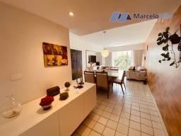 Título do anúncio: Apartamento nas Graças, 102m2 com 3 quartos, 1 suíte + Dep. Completa