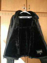 Jaqueta de Couro Legítimo Wilsons Leather Importada - Seminova