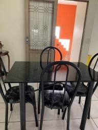 Mesa 04 Cadeiras Para Cozinha