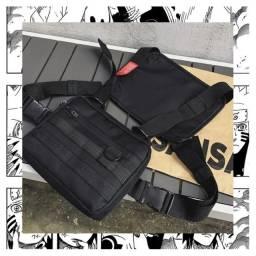 Bag estilo colete preta