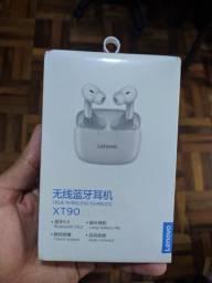 Fones de Ouvido Sem Fio Lenovo XT90 TWS Bluetooth 5.0 preto