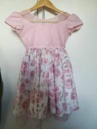 Título do anúncio: Vestido infantil tamanho 6