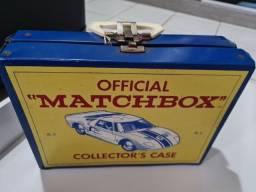 Maleta matchbox anos 60, item de colecionador