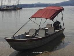 Vendo barco de alumínio !