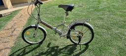 Bicicleta importada dobrável Columba