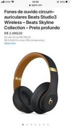 Beats Studio 3 Edição Gold