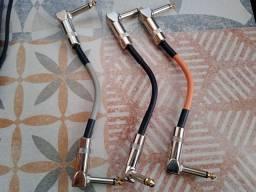 Cabo para pedais , patch cable 20cm Landtone