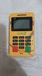 Título do anúncio: Maquininha Minizinha Chip 2