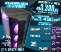 Título do anúncio: Computador PC Gamer - I5-3570 / GTX 1050TI 4GB / 8GB / HD 500GB até 12x sem juros