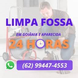 Título do anúncio: Limpa fossa em Goiânia e Aparecida >>>>