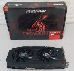 RX 580 4gb Power color (apenas venda)