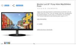 Monitor 20 polegadas