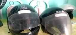 Vende.se 2 capacetes seminovos
