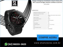 Título do anúncio: Relógio Inteligente SmartWatch Xiaomi Stratos GPS, MP3, A prova de Água, Monitor