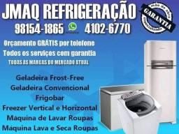 Título do anúncio: Conserto de máquina de lavar roupas, geladeiras e freezer.
