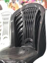 Título do anúncio: Atacado cadeira de plástica nova cor preta