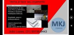 Título do anúncio: Rebaixamento de teto com PVC com requinte e qualidade .
